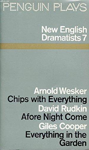 9780140480474: New English Dramatists: No. 7
