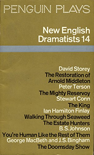 9780140480771: New English Dramatists: Storey, Terson, MacBeth and Bingham, Finlay, Johnson and Conn No. 14