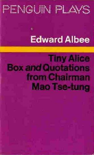 9780140481105: Tiny Alice: Box AND Quotations from Chairman Mao Tse Tung (Penguin plays)