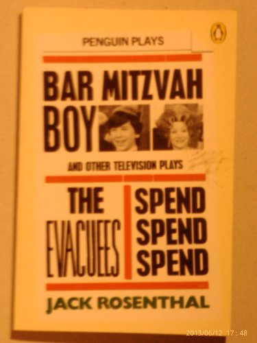 9780140482133: Bar Mitzvah Boy and Other T.V.Plays (Penguin plays & screenplays)