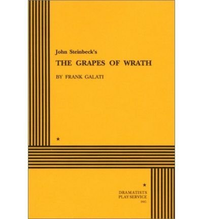 John Steinbeck's Grapes of Wrath: John Steinbeck; Adapter-Frank