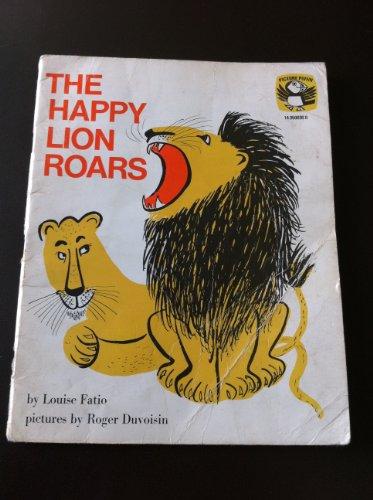 9780140500301: Happy Lion Roars (Puffin Picture Books)
