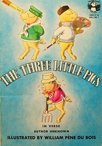 9780140501964: The Three Little Pigs: In Verse (Picture Puffin books)