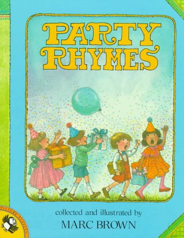 Party Rhymes (Picture Puffins) (0140503188) by Brown, Marc