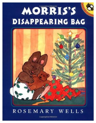 9780140503197: Morris's Disappearing Bag (Picture Puffin) - A Christmas Story by Rosemary Wells.