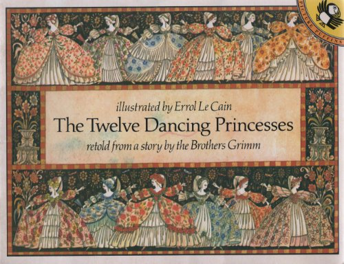 9780140503227: The Twelve Dancing Princesses (Picture Puffin S.)