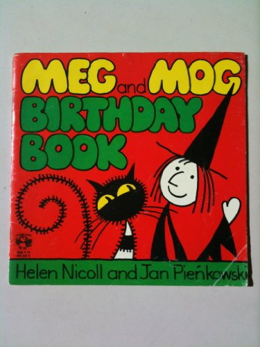 9780140503456: Meg and Mog Birthday Book (Picture Puffin)