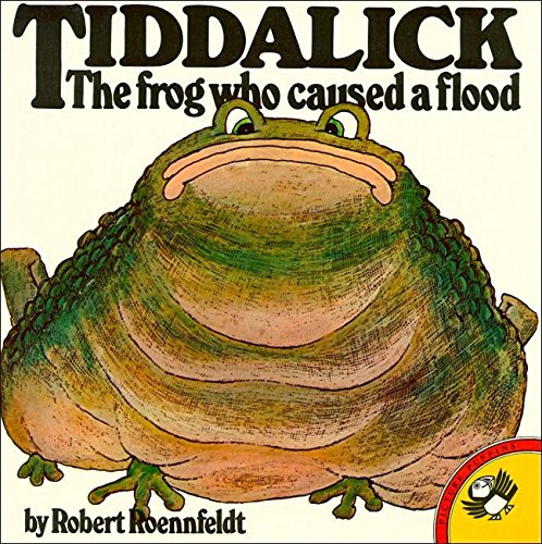 9780140503494: Tiddalick The Frog Who Caused A Flood (Picture Puffin)