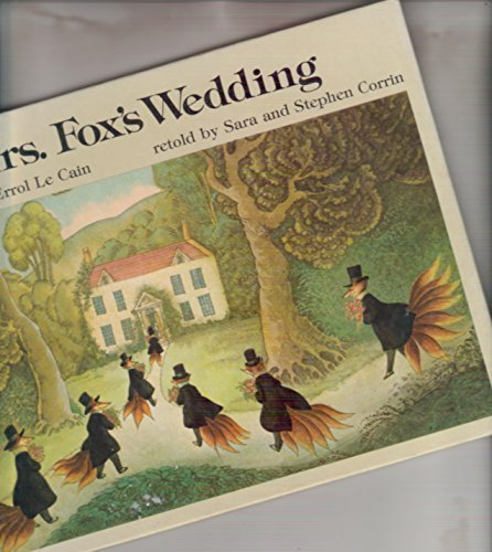9780140503753: Mrs. Fox's Wedding (Picture Puffin)
