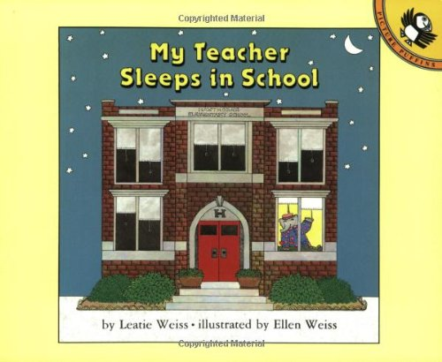 9780140505597: My Teacher Sleeps in School (Picture Puffin Books)