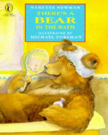 9780140506563: There's a Bear in the Bath (Picture Puffin Story Books)