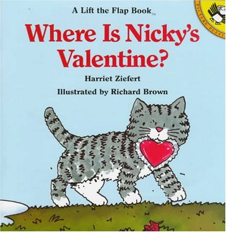 9780140507065: Where Is Nicky's Valentine? (Lift-the-flap Books)