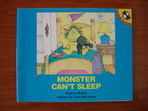 9780140508789: Monster Can't Sleep (Picture Puffin)