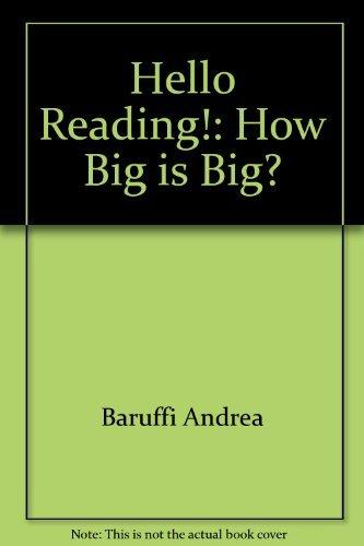 9780140509830: How Big is Big? (Hello Reading)