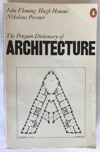 9780140510133: The Penguin Dictionary of Architecture (Reference Books)