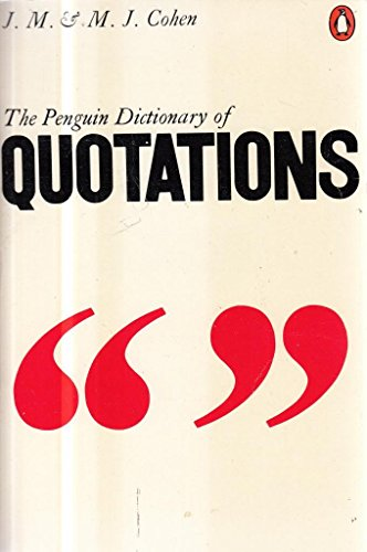 9780140510164: Dictionary of Quotations, The Penguin (Reference Books)