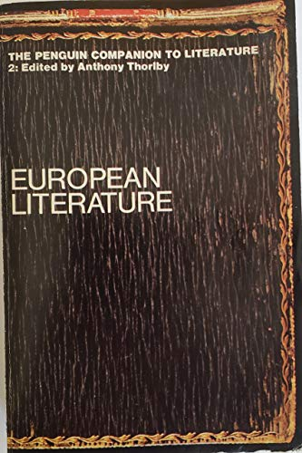 9780140510355: The Penguin Companion to Literature: Europe v. 2 (Penguin reference books)