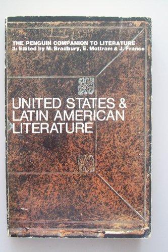 9780140510362: Penguin Companion to Literature: Vol 3 U.S.A.and Latin America (Penguin Reference Books)