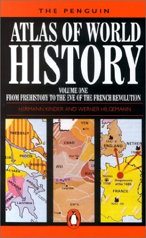 9780140510546: The Penguin Atlas of World History, Vol.1: From the Beginning to the Eve of the French Revolution: From the Beginning to the Eve of the French Revolution Vol 1 (Reference Books)