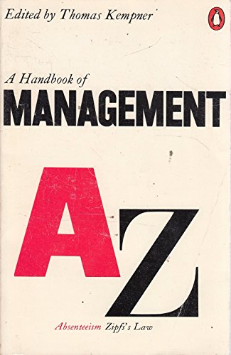 9780140510638: Handbook of Management (Reference Books)