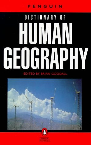 9780140510959: Dictionary of Human Geography, The Penguin (Penguin reference)