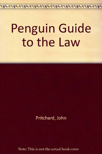 9780140511024: Penguin Guide to the Law