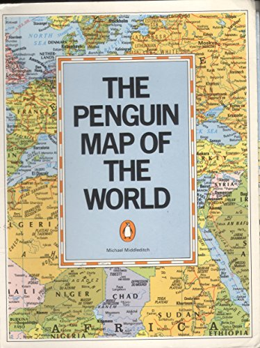 9780140511147: The Penguin Map of the World