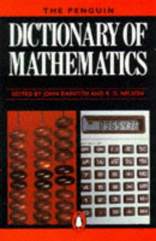 9780140511192: Dictionary of Mathematics, The Penguin (Dictionary, Penguin)