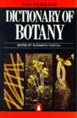 The Penguin Dictionary of Botany: Urdang, Lawrence Associates,