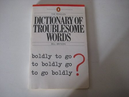 9780140511307: Dictionary of Troublesome Words, The Penguin
