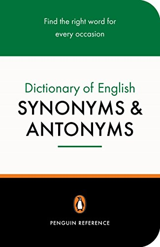 9780140511680: Dictionary of synomyms and antonyms (Penguin reference)