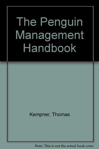 9780140511710: The Penguin Management Handbook