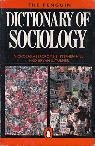 9780140511840: Dictionary of Sociology, The Penguin: Second Edition (Reference)