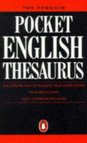 9780140511932: The Penguin Pocket English Thesaurus