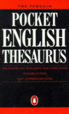 The Penguin Pocket English Thesaurus (Dictionary)