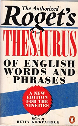 9780140512045: Thesaurus of English Words and Phrases