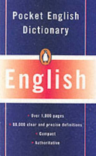 9780140512182: The Penguin Pocket English Dictionary (Reference Books)