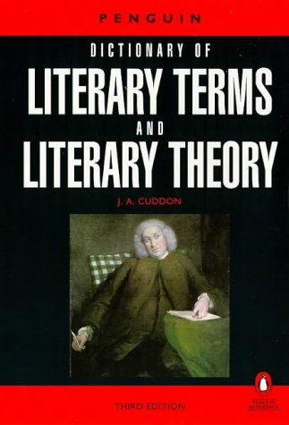 9780140512274: A Dictionary of Literary Terms and Literary Theory (Dictionary, Penguin)