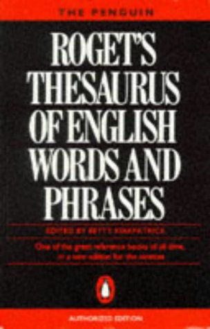 9780140512489: Rogets Thesaurus Of English Words And Phrases New Edition (Reference Books)