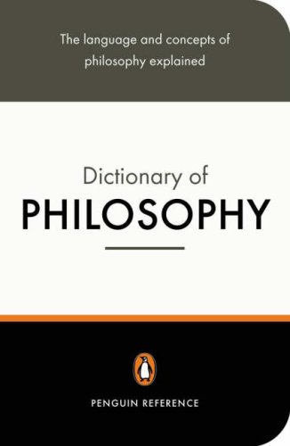 9780140512502: The Penguin Dictionary of Philosophy (Penguin Dictionary)