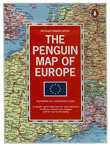 9780140512861: The Penguin Map of Europe