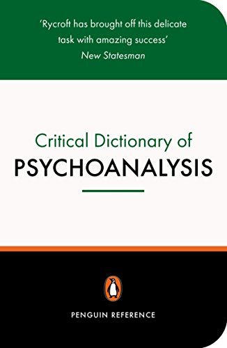 9780140513103: A Critical Dictionary of Psychoanalysis (Penguin Reference)