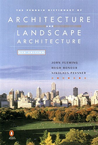 9780140513233: The Penguin Dictionary of Architecture and Landscape Architecture