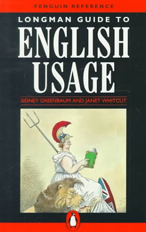 9780140513561: Longman Guide to English Usage (Penguin Reference Books)