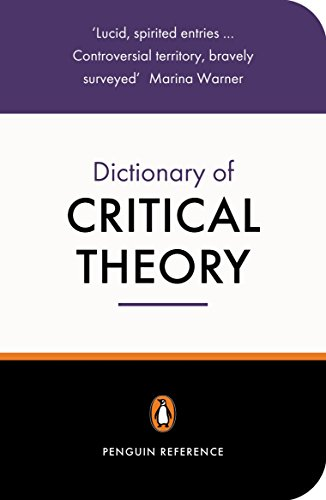 9780140513691: The Penguin Dictionary of Critical Theory (Penguin Reference Books)