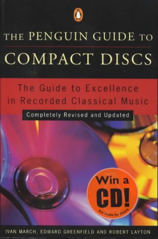 9780140513790: Compact Discs, The Penguin Guide to: Completely Revised and Updated (Penguin Guide to Compact Discs, 1999)
