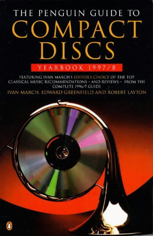 9780140513813: The Penguin Guide to Compact Discs, Yearbook 1997-1998 (Penguin Guide to Compact Discs and DVDs Yearbook)
