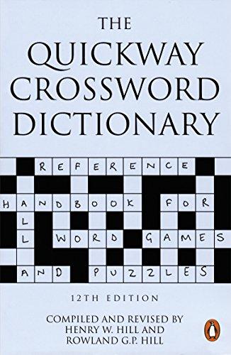 9780140514018: The Quickway Crossword Dictionary