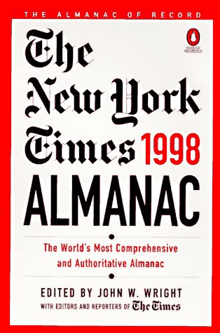 9780140514056: The New York Times Almanac 1998: The World's Most Comprehensive and Authoritative Almanac (Reference)
