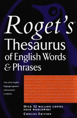 9780140514223: Rogets Thesaurus Of English Words And Phrases Concise Edition (Penguin Reference Books)